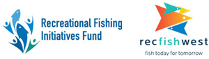 Recfishwest and Recreational Fishing Initiatives Fund logos